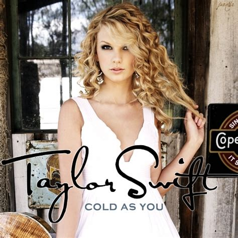 taylor swift tim mcgraw album song list image cold as you fanmade single cover taylor swift