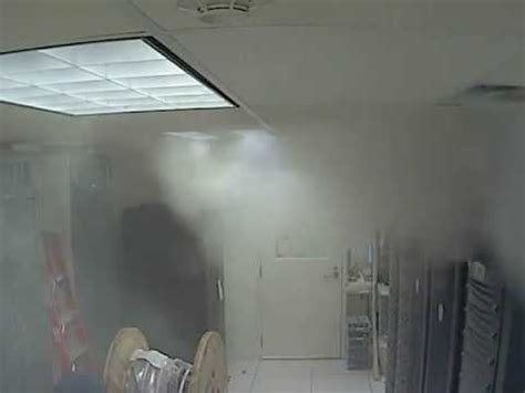 server room suppression fm200 suppression gas releasing in server room