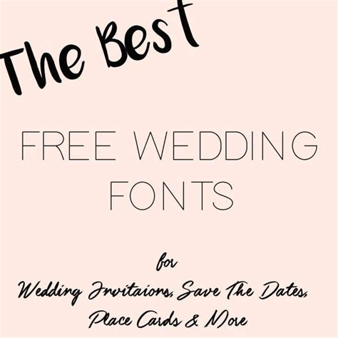 free printable wedding fonts 17 best images about free downloads wedding on