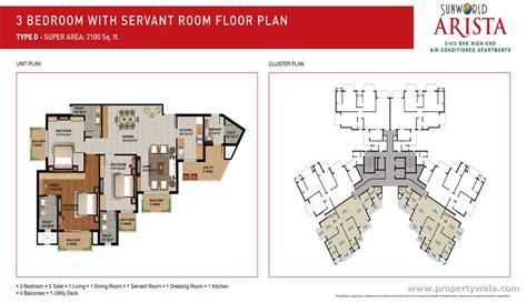 d d floor plans sunworld arista sector 168 noida apartment flat
