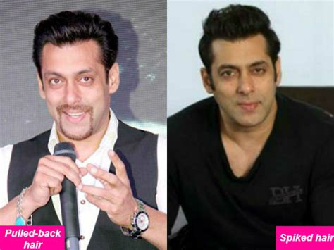 how do you spike hair like the most famous hair styles 2015 for men salman khan in pulled back hair or spiked hair which do