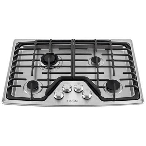 electrolux 30 gas cooktop ew30gc55ps electrolux 30 gas cooktop stainless airport