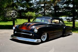 1951 chevrolet chopped fleetline deluxe air bagged the