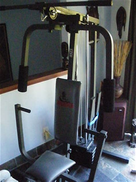 weider 8515 home 250 lb variable weight stack stair
