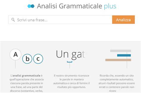 diversi analisi grammaticale analisi grammaticale gratis scuolissima
