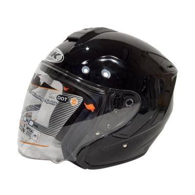 Helm Ink Dynamic jual ink dynamic helm half black harga kualitas terjamin blibli
