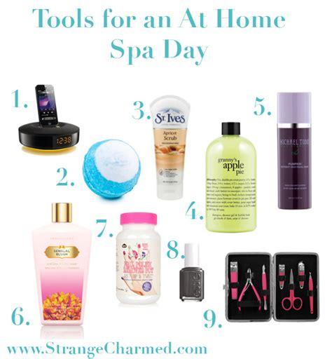 how to an at home spa day strange charmedstrange