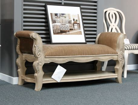 ortanique upholstered bench b707 09 ortanique collection upholstered bench베드벤치벨라지오퍼니쳐