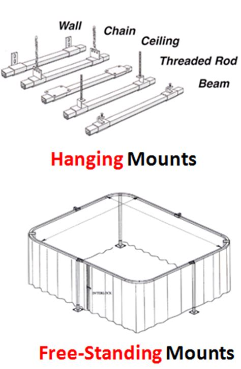 curtain mounting options industrial blackout curtains akon curtain and dividers