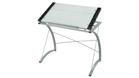 drafting table glass modern xpressions glass top drafting table zuri furniture