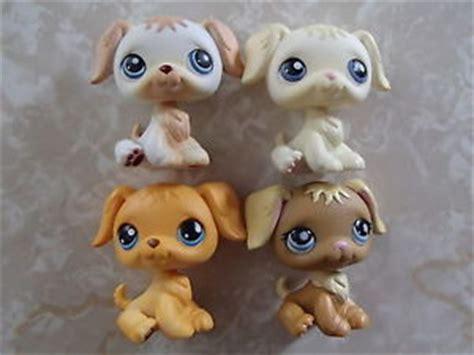 lps golden retriever littlest pet shop 4 golden retriever puppy lot no 21 4079 436 140 ebay
