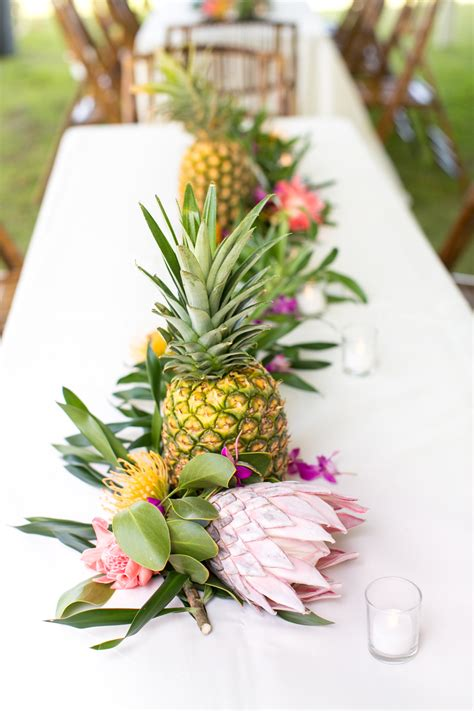 8 Floral Inspired Accessories by Tropical Colorful Wedding In Kauai Botanical Garden