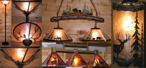 Lampshade Shapes by Rustic Wildlife Chandelier Lighting Examples Lamp Shade Pro