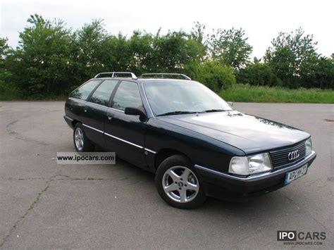 how petrol cars work 1990 audi 100 seat position control 1990 audi 100 avant 2 3 e car photo and specs