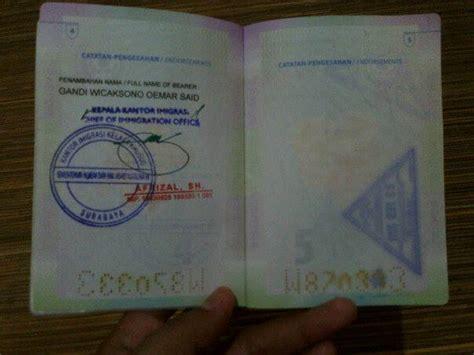 pembuatan paspor baru karena hilang mengurus penambahan nama di paspor ekkairianto