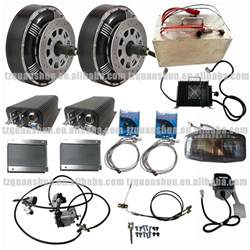 Electric Car Conversion Kit Integra Qs Dual 8kw 8 8kw Hub Motor Electric Hybrid Car Conversion