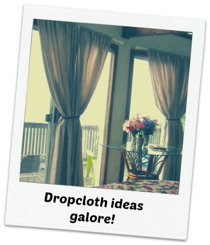 dollar store curtains the dollar store diva dropcloth ideas galore cha ching