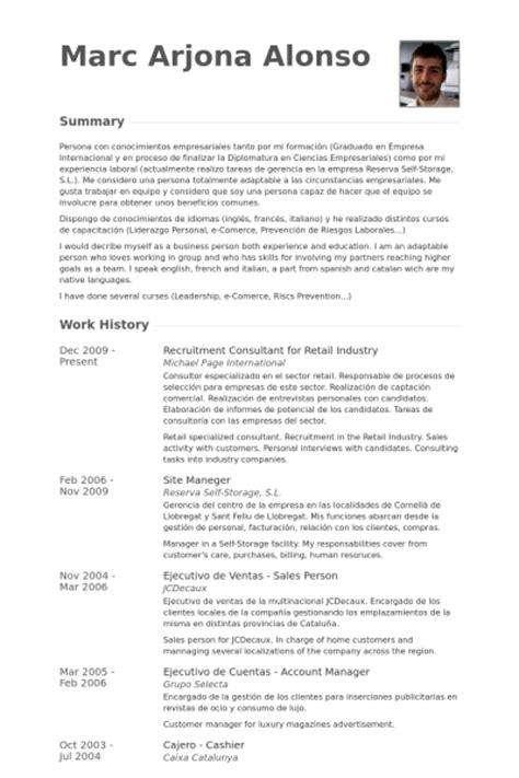 best resume for recruitment consultant contemporary