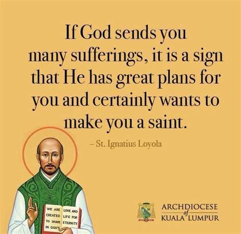 st quote st ignatius of loyola quotes quotesgram
