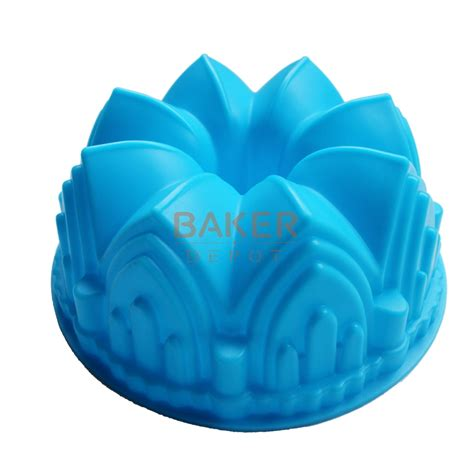 Cetakan Silicone Mold 6 aliexpress buy large crown silicone cake mold microwave baking tools novelty cake molds