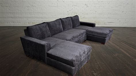dual chaise sofa double chaise sectional sofas type and finishing homesfeed