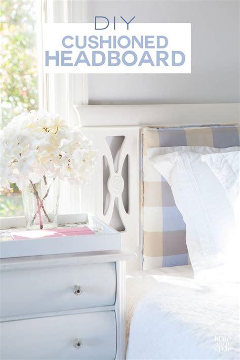 diy twin headboards diy cushioned headboard twin headboard photos and sew