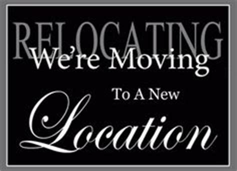 1000 Images About Salon Moving On Pinterest Moving Announcements Moving Card And New Home We Moved Sign Template