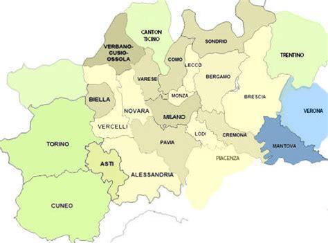 pavia mappa turistica cartina lombardia e province my