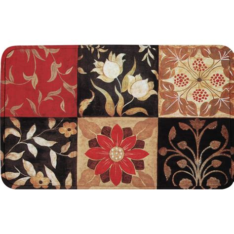 Calm Chef Anti Fatigue Mat by Home Dynamix Calm Chef Medallion 19 6 In X 31 5 In