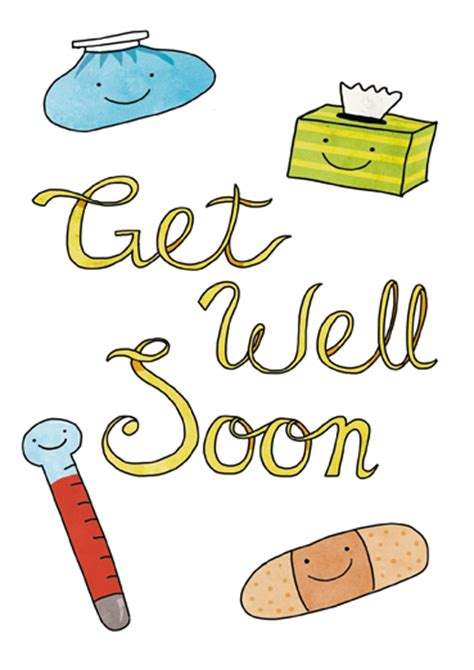 Free Template Get Well Card by Get Well Card Templates 28 Images Get Well Card