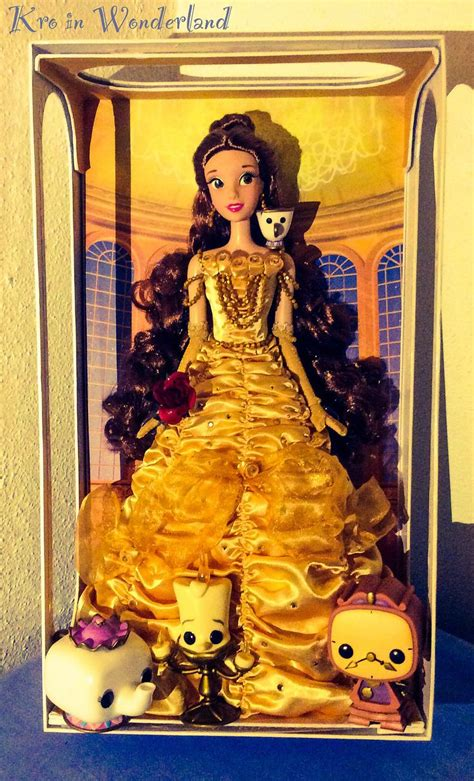 limited edition beauty and the beast le creuset cookware belle limited edition doll princess belle pinterest