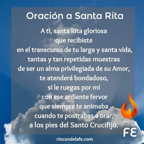 oraciones catolicas cortas para compartir aula cristiana gloria tv santa rita santa rita de casia vida de santos