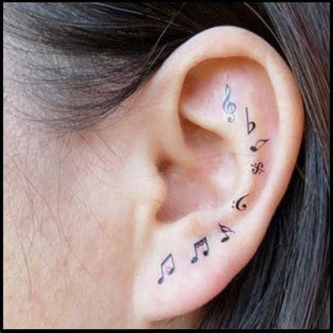 55 Ear Tattoos Designs And Ideas For Women Dzine Mag Ear Tattoos