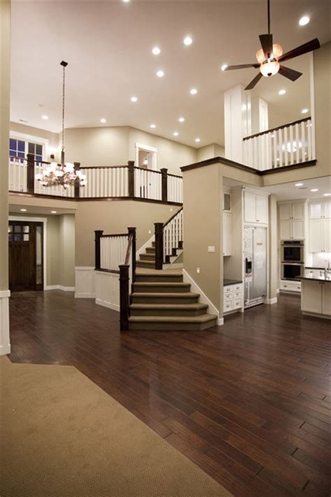custom home draper ut traditional staircase salt