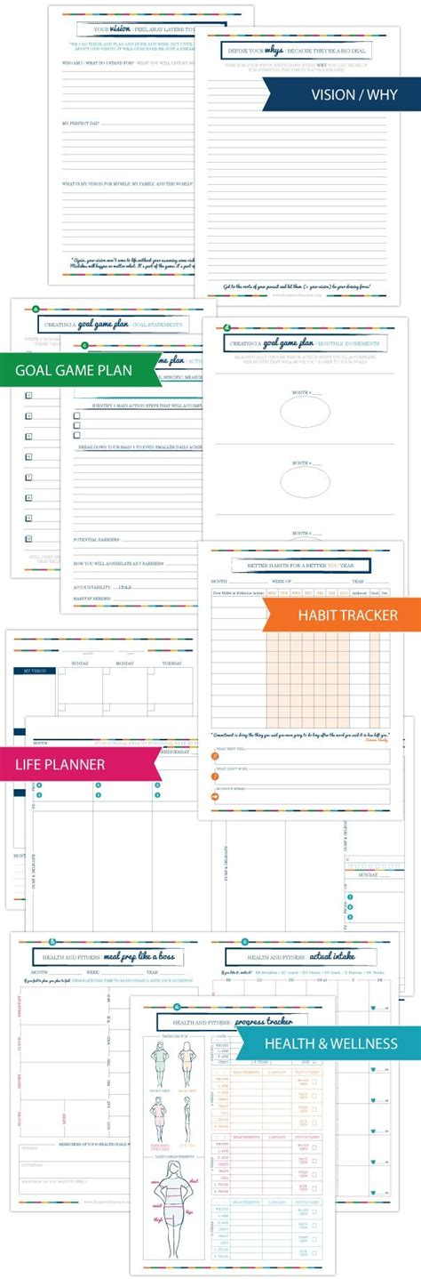 gtd printable planner 224 best images about organization gtd on pinterest