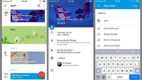 Calendar Api Ios Ios Calendar App Calendar Template 2016