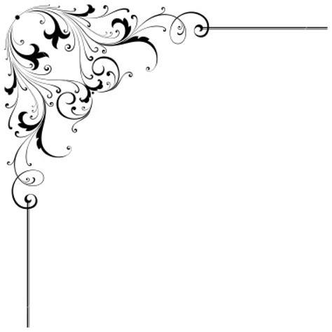 Wedding Scroll Border by Free Ornate Scroll Clipart 44