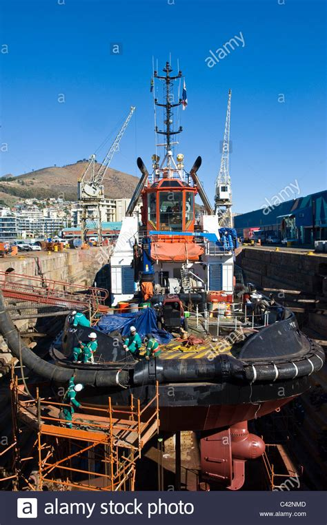 tow boat on dry dock tugboat dock stock photos tugboat dock stock images alamy
