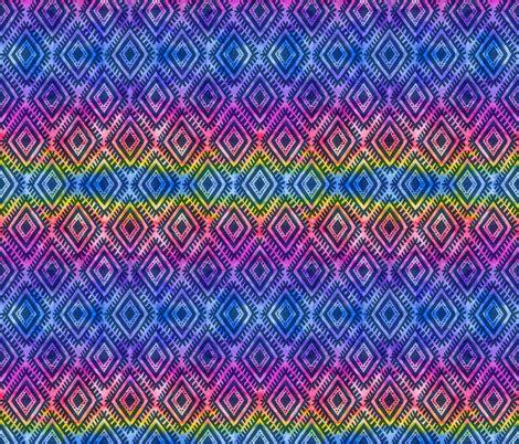 tribal pattern material tribal rainbow pattern fabric art of sun spoonflower