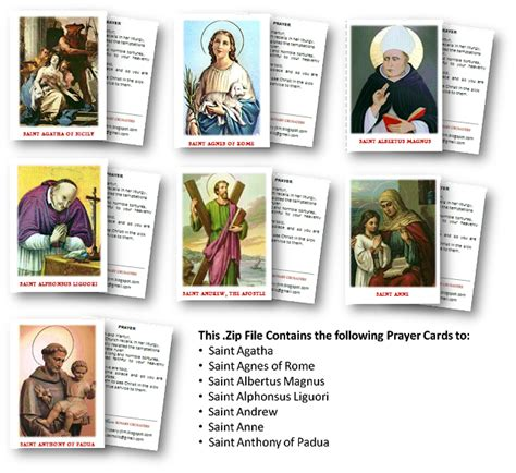 catholic prayer card templates ad jesum per mariam catholic lay ministry archives free