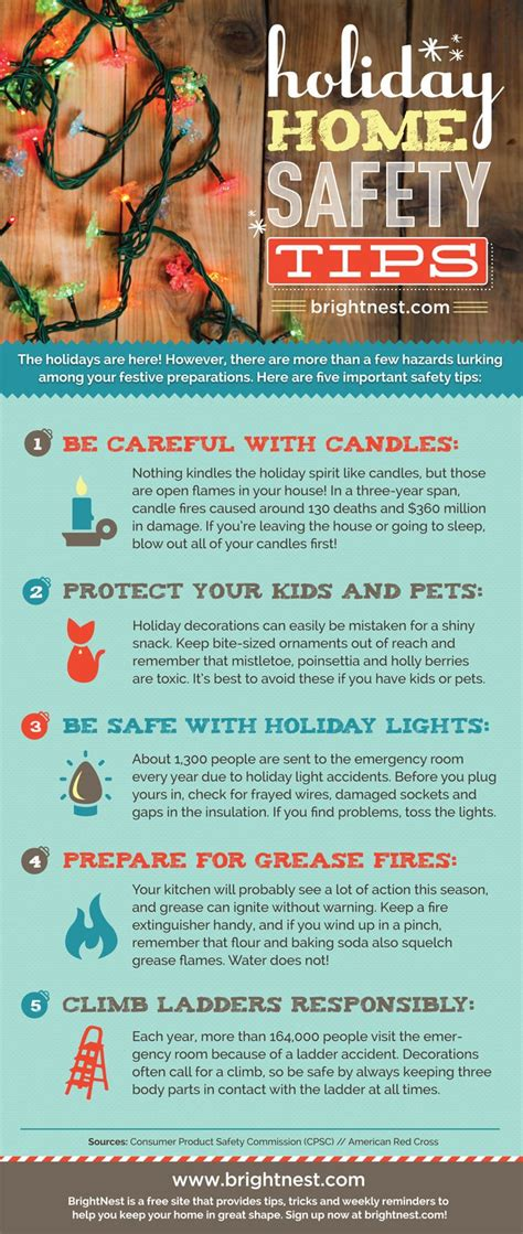 react mobile home safety tips infographic