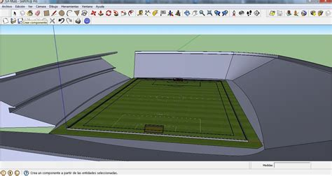 my hobbies me google sketchup tutorial como hacer un estadio en google sketchup