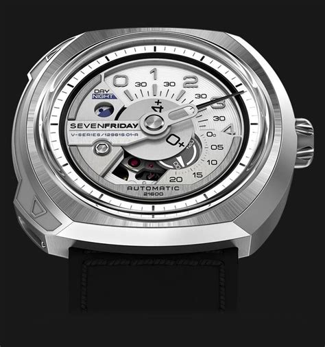 Seven Friday M2 Black Silver jam tangan original sevenfriday m series m2 02