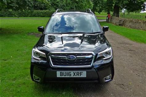 subaru forester xt road subaru forester 2 0 xt 5d lineartronic road test parkers