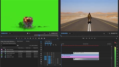 adobe premiere pro green screen green screen explosions tutorial in adobe premiere pro