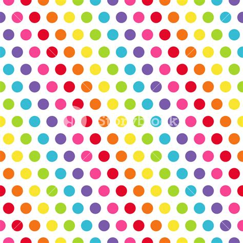 pattern dots color rainbow polka dots pattern royalty free stock image