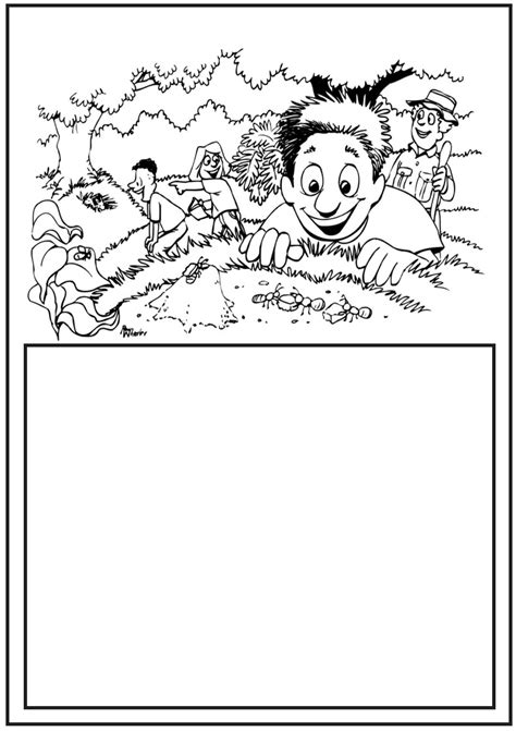 disney channel ant farm coloring coloring pages