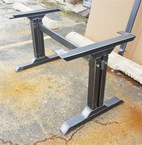 steel dining table legs best 25 metal table legs ideas on steel table