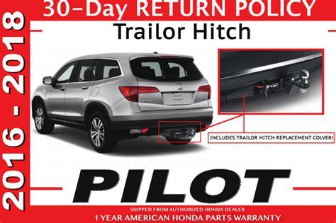 genuine oem honda pilot trailer hitch    tg