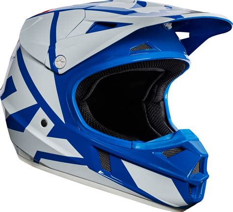 junior motocross racing fox racing youth v1 race mx motocross helmet original